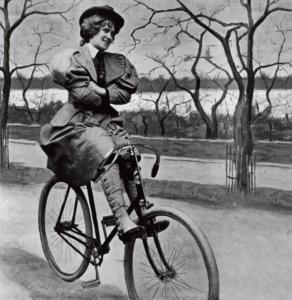 Bicicletta è donna