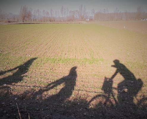 bici d'inverno
